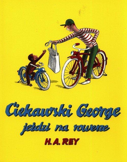 Ciekawski George jeździ na rowerze - okładka książki