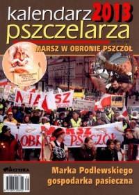 Kalendarz pszczelarza 2013 - okładka książki