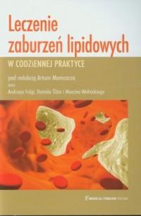 Leczenie zaburzeń lipidowych w - okładka książki