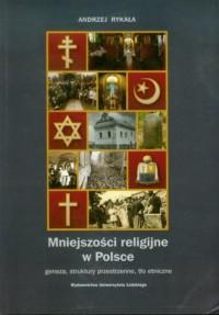 Mniejszosci religijne w Polsce. Geneza, struktury przestrzenne, tło etniczne - okładka książki