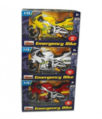 Motocykl z dźwiękiem - zdjęcie zabawki, gry