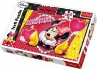 Myśląca Minnie (puzzle - 160 elem.) - zdjęcie zabawki, gry