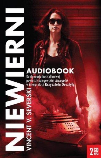 Niewierni (CD mp3) - pudełko audiobooku