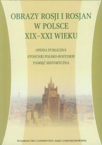 Obrazy Rosji i Rosjan w Polsce - okładka książki