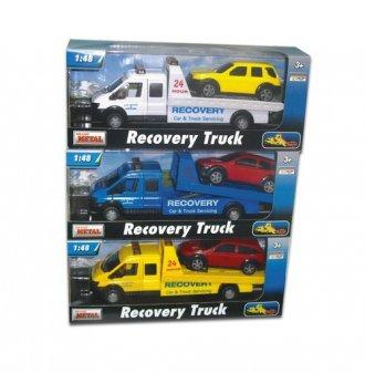 Pomoc drogowa laweta (skala 1: - zdjęcie zabawki, gry