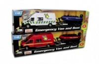 Samochód ratowniczy z pontonem - zdjęcie zabawki, gry