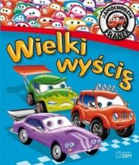 Samochodzik Franek. Wielki wyścig - okładka książki