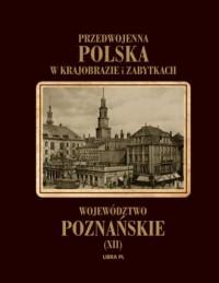 Województwo poznańskie. Przedwojenna - okładka książki