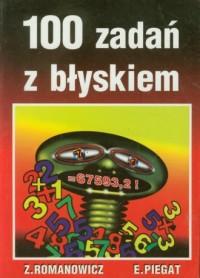 100 zadań z błyskiem - okładka książki