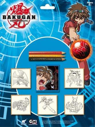 Bakugan (pieczątki) - zdjęcie zabawki, gry
