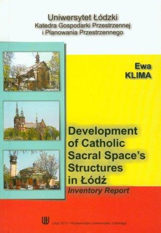Development of catholic sacral - okładka książki