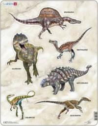 Dinozaury (puzzle) - zdjęcie zabawki, gry