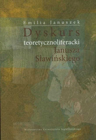 Dyskurs teoretycznoliteracki Janusza - okładka książki