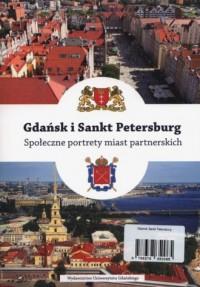 Gdańsk i Sankt Petersburg. Społeczne - okładka książki