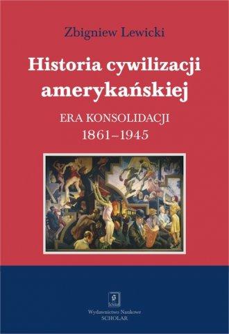 Historia cywilizacji amerykańskiej. - okładka książki