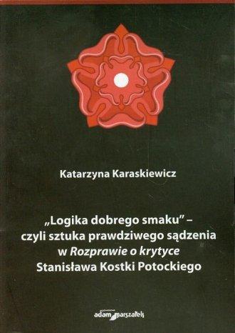 Logika dobrego smaku czyli sztuka - okładka książki