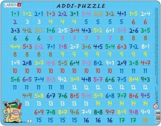 Matematyka - dodawanie (puzzle - zdjęcie zabawki, gry