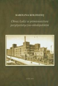 Obraz Łodzi w piśmiennictwie pozytywistyczno-młodopolskim - okładka książki