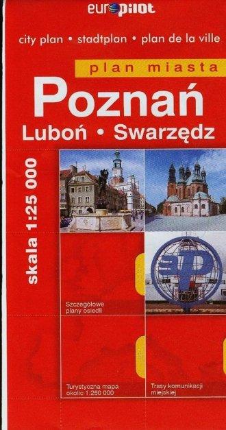 Poznań Luboń Swarzędz. Plan miasta - okładka książki