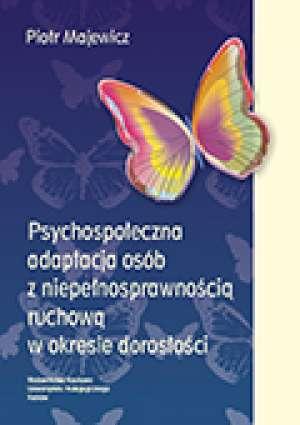 Psychospołeczna adaptacja osób - okładka książki
