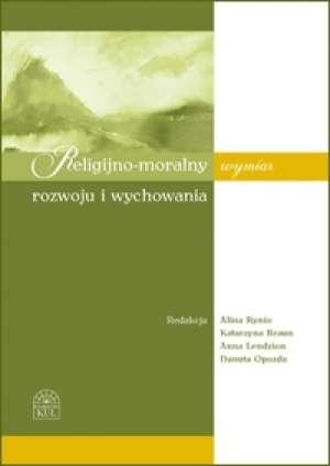Religijno-moralny wymiar rozwoju - okładka książki