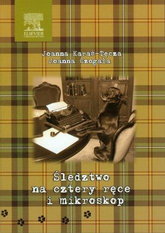 Śledztwo na cztery ręce i mikroskop - okładka książki