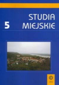 Studia Miejskie. Tom 5 - okładka książki