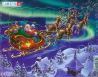 Święty Mikołaj (puzzle) - zdjęcie zabawki, gry