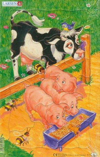 Świnki (puzzle) - zdjęcie zabawki, gry