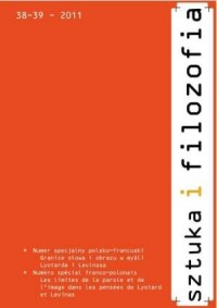 Sztuka i filozofia nr 38-39/2011 - okładka książki