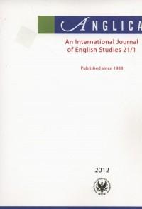 Anglica. An International Journal of English Studies 21(2)/2012 - okładka książki