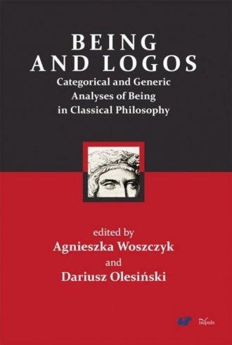 Being and logos. Categorical and - okładka książki