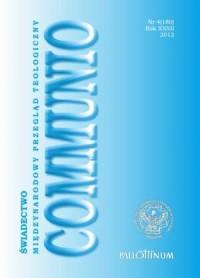 Communio nr 4 (180)/2012. Świadectwo - okładka książki