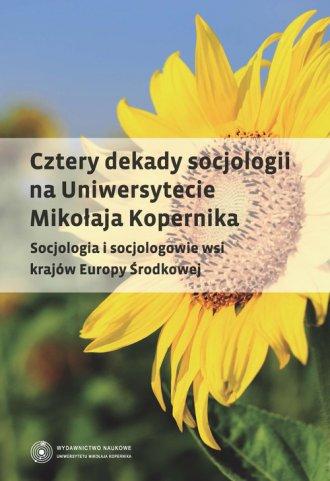 Cztery dekady socjologii na Uniwersytecie - okładka książki