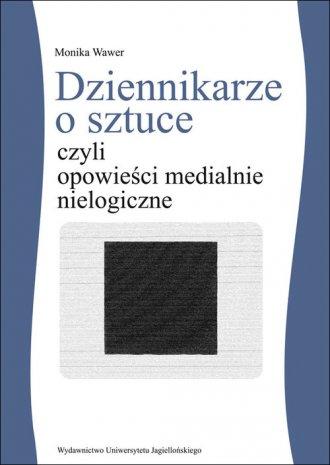 Dziennikarze o sztuce czyli opowieści - okładka książki
