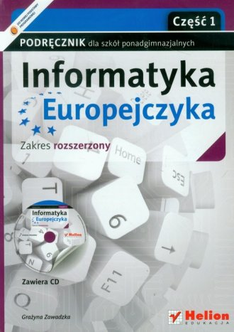 Informatyka Europejczyka. Informatyka. - okładka podręcznika
