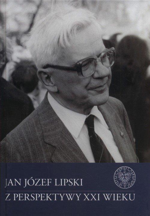 Jan Józef Lipski z perspektywy - okładka książki