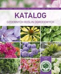 Katalog ozdobnych roślin ogrodowych - okładka książki
