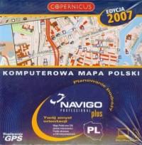 Komputerowa mapa Polski. Navigo Professional Plus - pudełko programu