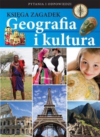 Księga zagadek. Geografia i kultura - okładka książki