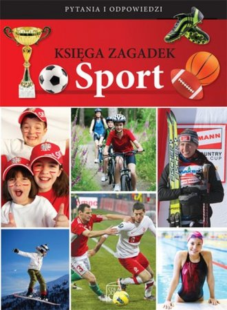 Księga zagadek. Sport - okładka książki