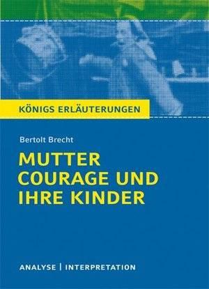 Mutter Courage und ihre Kinder. - okładka książki