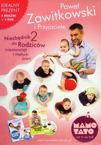 Niezbędnik dla rodziców niemowląt - okładka książki
