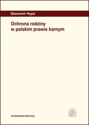 Ochrona rodziny w polskim prawie - okładka książki