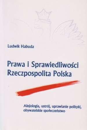 Prawa i Sprawiedliwości Rzeczpospolita - okładka książki