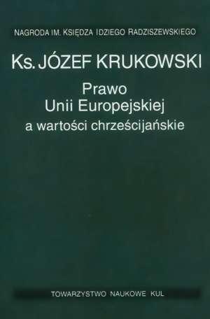 Prawo Unii Europejskiej a wartości - okładka książki