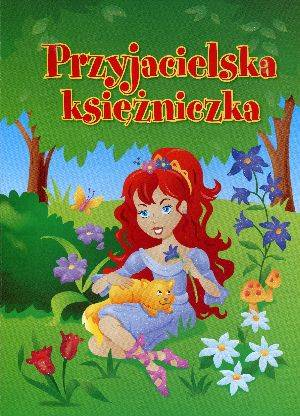 Przyjacielska księżniczka - okładka książki