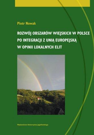 Rozwój obszarów wiejskich w Polsce - okładka książki