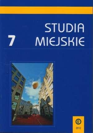Studia Miejskie. Tom 7 - okładka książki
