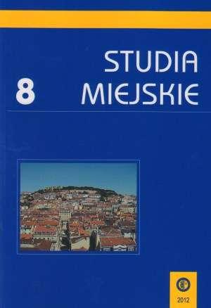 Studia Miejskie. Tom 8 - okładka książki